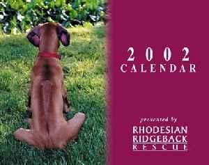 2002 Ridgeback-a-Day Calendar