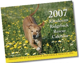 2007 Ridgeback-a-Day Calendar