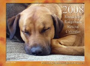 2008 Ridgeback-a-Day Calendar
