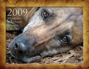 2009 Ridgeback-a-Day Calendar