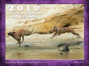 2010 Ridgeback-a-Day Calendar